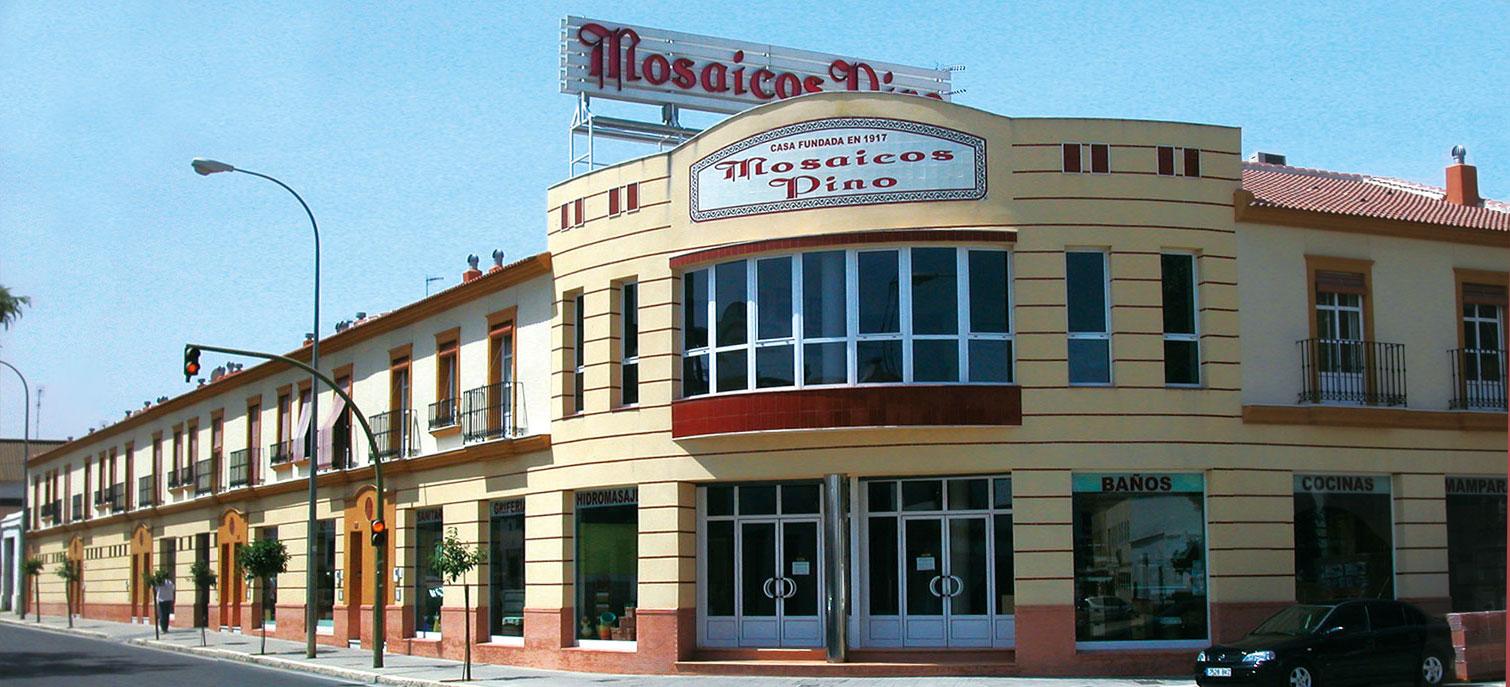 Fachada Empresa Mosaicos Pino